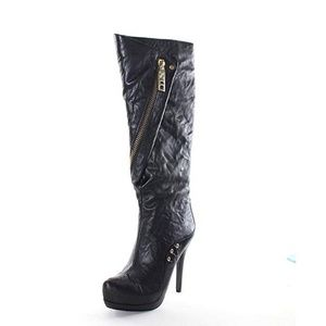 Donald J Pliner Tammy Leather Knee High Boots US 8